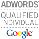 google adwrods qualified